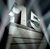поздравление 15 Стоковое Изображение RF