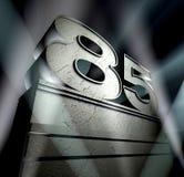 поздравление 85 Стоковое Изображение RF