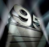 поздравление 95 Стоковое Изображение RF