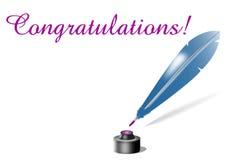 поздравления карточки Стоковая Фотография RF