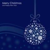 Поздравления на рождестве Стоковые Фотографии RF
