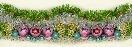 Поздравления Нового Года и рождества Стоковое Изображение