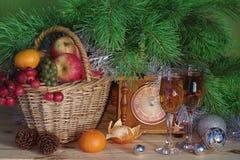 Поздравления Нового Года и рождества Стоковая Фотография RF