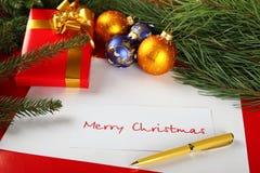 поздравления рождества карточки Стоковые Изображения