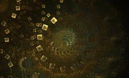 позеленейте белизну вортекса плитки Стоковые Фото