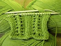 позеленейте вязать Стоковые Изображения