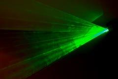 позеленейте лазер Стоковая Фотография