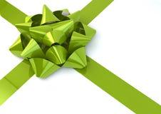 Позеленейте смычок Стоковые Изображения RF