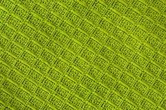 позеленейте текстурированные шерсти Стоковая Фотография RF