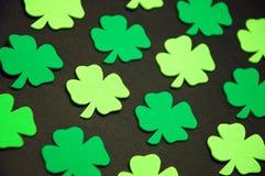 позеленейте shamrocks Стоковые Фотографии RF