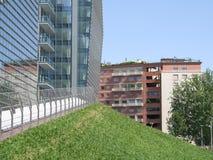 Позеленейте город стоковые фотографии rf
