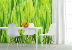 позеленейте кухню стоковые фотографии rf
