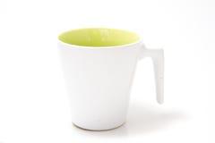 Позеленейте чашку Стоковое Фото