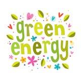 Позеленейте энергию Стоковые Изображения