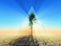 Позеленейте энергию Стоковое фото RF