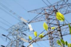 Позеленейте энергию Стоковое Изображение RF