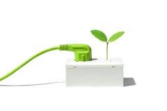 Позеленейте энергию стоковое изображение