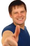 позитв человека Стоковое фото RF