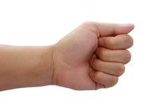 Позиция руки Стоковое Изображение RF