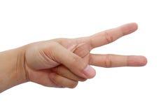 Позиция руки Стоковое Фото