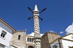 Позорный столб Elvas Стоковая Фотография