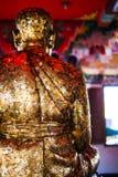 Позолоченный Будда Стоковое Фото