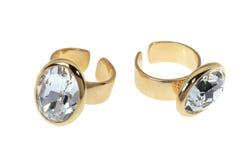 2 позолоченных кольца Стоковая Фотография RF