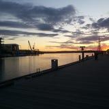 Поздним летом Норвегия Стоковое Изображение