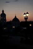Поздно вечером в парке Стоковое Фото