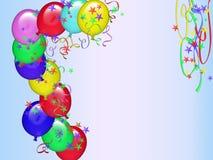 поздравительая открытка ко дню рождения 11 счастливая Стоковые Фотографии RF