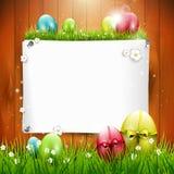 Поздравительная открытка пасхи Стоковая Фотография RF