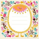 Поздравительная открытка Стоковые Фото
