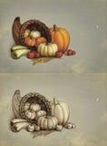 Поздравительные открытки благодарения Стоковая Фотография RF