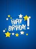 Поздравительая открытка ко дню рождения с днем рождений Стоковые Фотографии RF