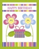 Поздравительая открытка ко дню рождения с днем рождений Стоковая Фотография RF