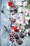 Поздравительная открытка валентинки St Стоковое Изображение RF