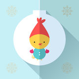 Поздравительная открытка игрушки Стоковые Изображения RF