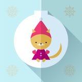 Поздравительная открытка игрушки Стоковое Фото