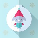 Поздравительная открытка игрушки Стоковое Изображение