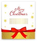 Поздравительная открытка или сертификат Стоковое Фото