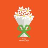 Поздравительная открытка дня женщин Стоковая Фотография RF