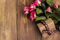 Поздравительная открытка дня или дня рождения матерей Стоковые Фото