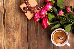 Поздравительная открытка дня или дня рождения матерей Стоковая Фотография
