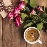 Поздравительная открытка дня матерей или валентинок Стоковое Изображение RF