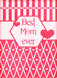 Поздравительная открытка дня матерей Стоковая Фотография RF