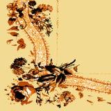Поздравительная открытка приглашения или 7 шаблонов Стоковое Изображение RF