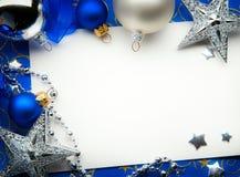 Поздравительная открытка рождества искусства Стоковая Фотография