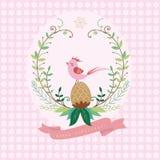 Поздравительная открытка рождества и праздника Стоковое Изображение
