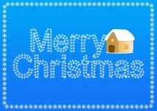 Поздравительная открытка рождества Стоковая Фотография RF