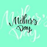 Поздравительная открытка с днем ` s матери Стоковые Фото